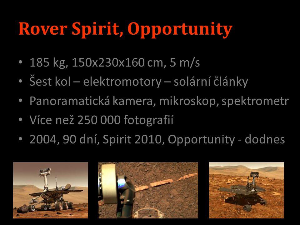 Rover Spirit, Opportunity