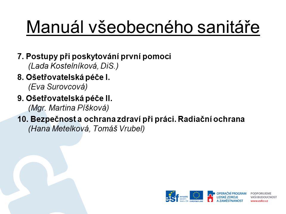 Manuál všeobecného sanitáře