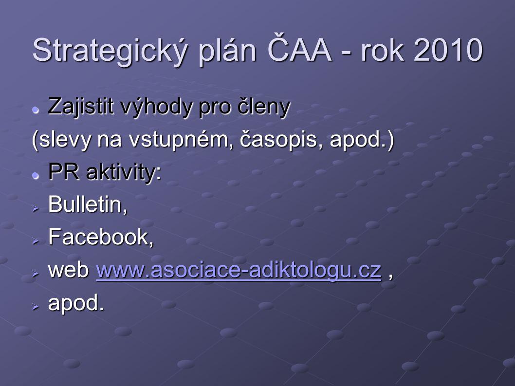 Strategický plán ČAA - rok 2010