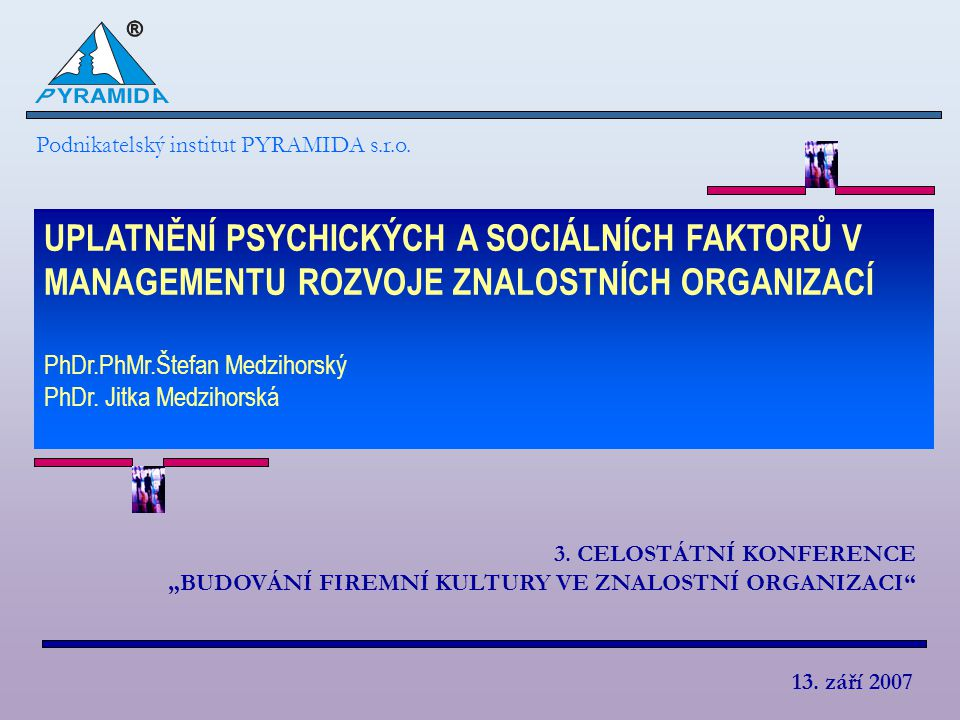 Podnikatelský institut PYRAMIDA s.r.o.