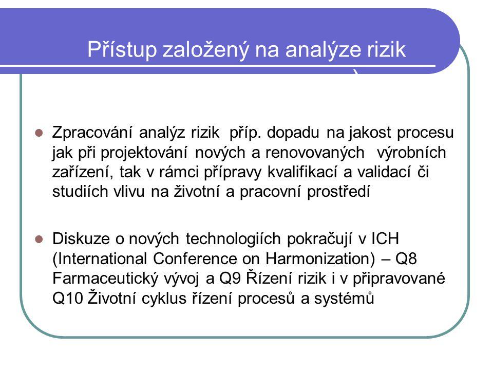 Přístup založený na analýze rizik (Risk Based Approach)