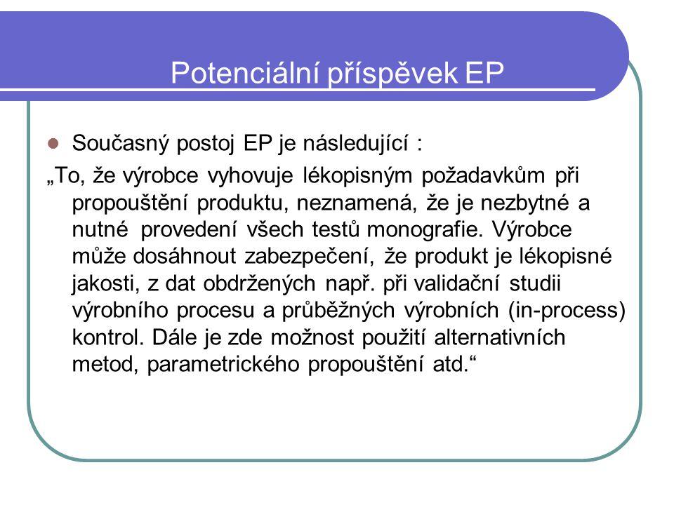 Potenciální příspěvek EP