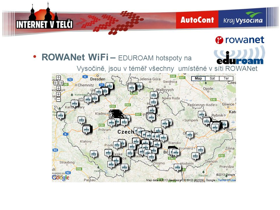 ROWANet WiFi – EDUROAM hotspoty na