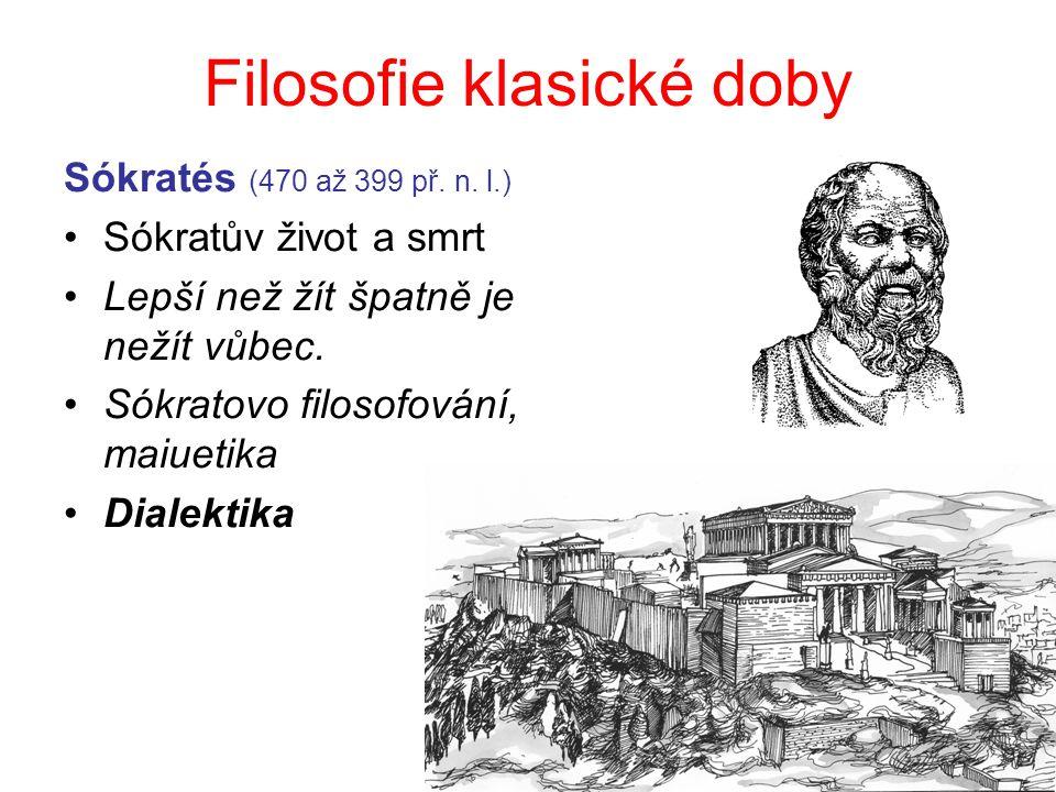 Filosofie klasické doby