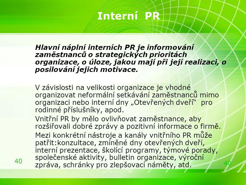 Interní PR