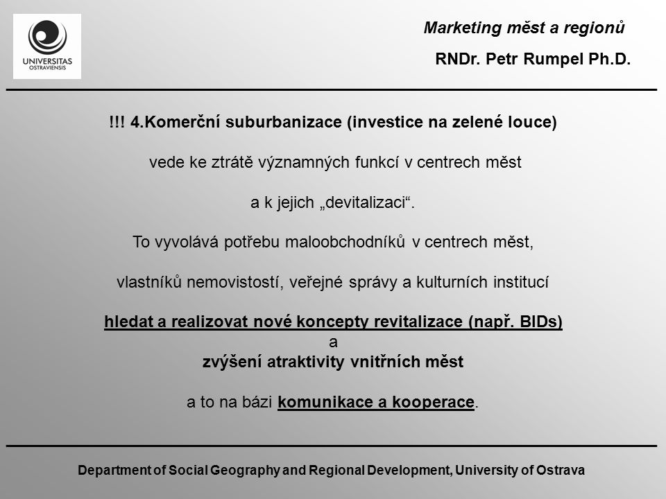 Marketing měst a regionů