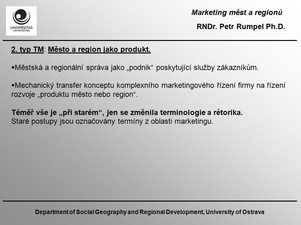 Marketing měst a regionů