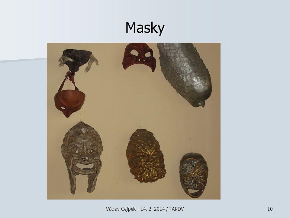 Masky Václav Cejpek - 14. 2. 2014 / TAPDV