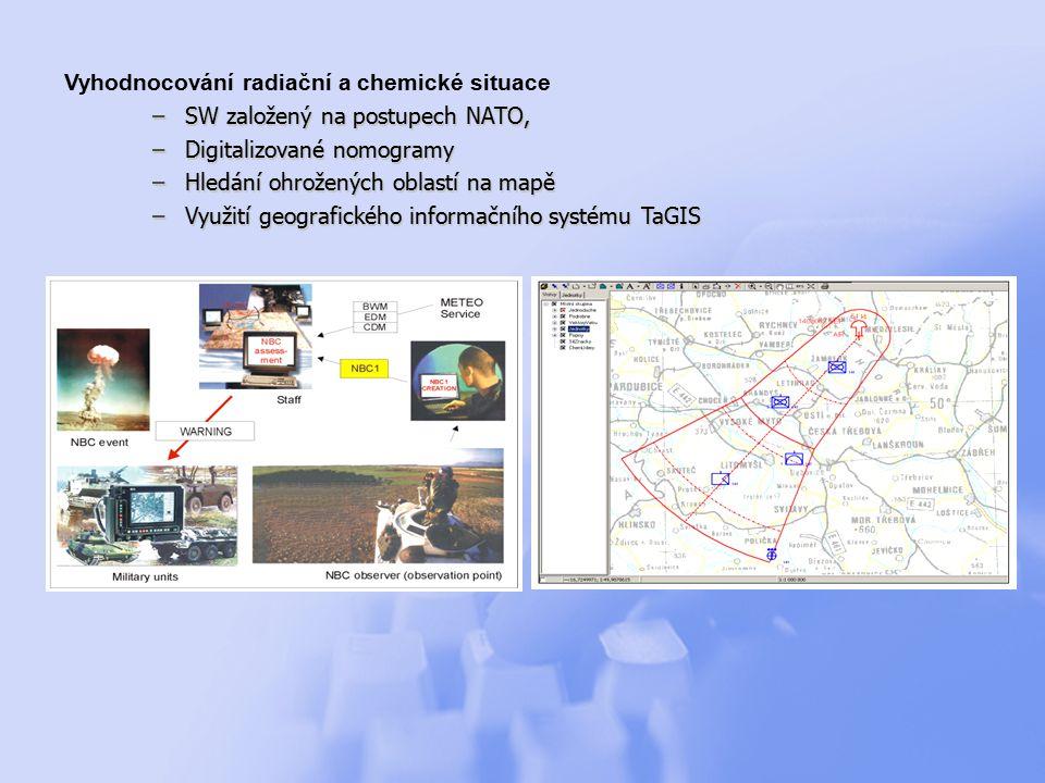 Vyhodnocování radiační a chemické situace