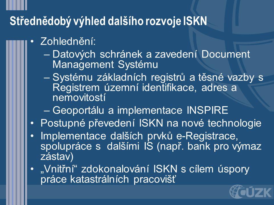 Střednědobý výhled dalšího rozvoje ISKN
