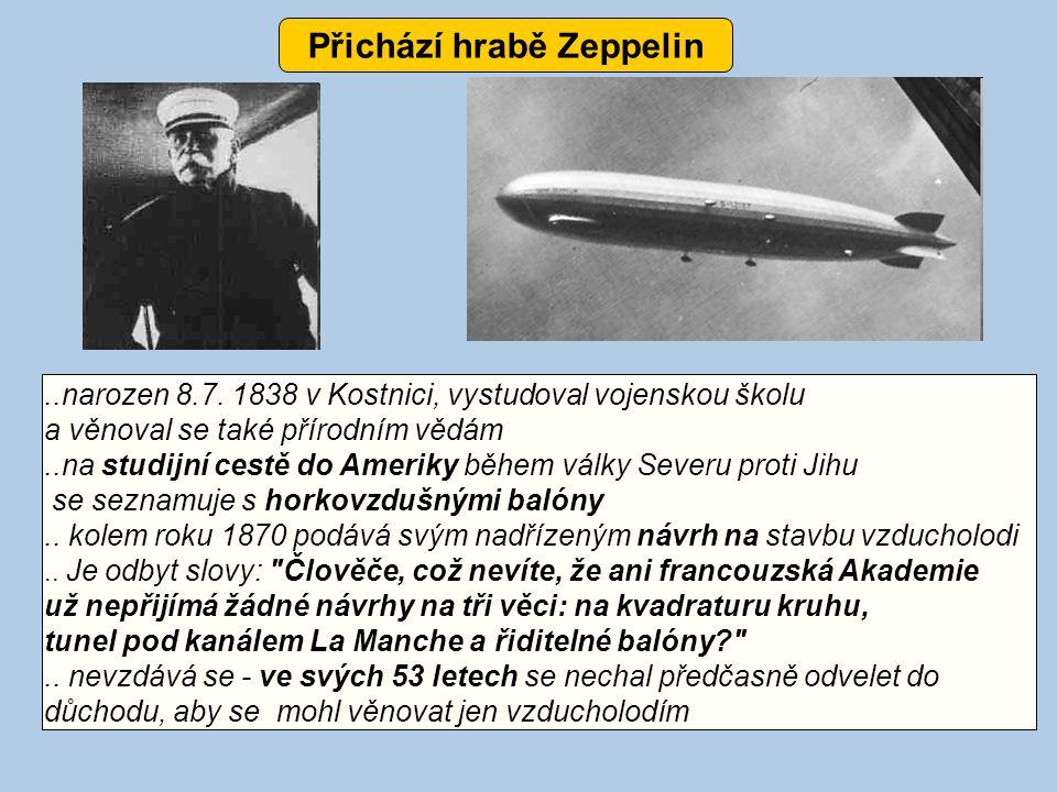 Přichází hrabě Zeppelin