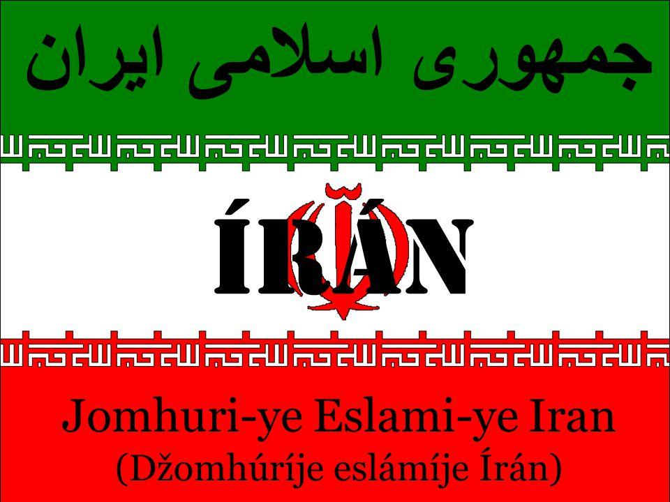 ÍRÁN جمهوری اسلامی ایران Jomhuri-ye Eslami-ye Iran