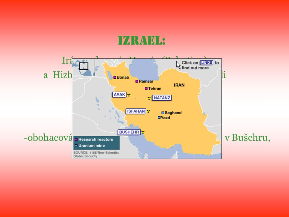 Irán podporuje Hamás (Palestina)