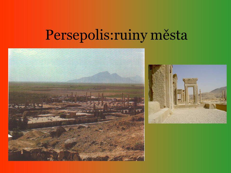 Persepolis:ruiny města