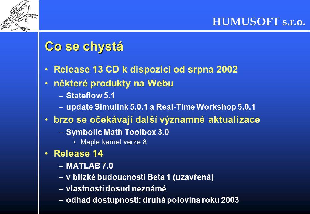 Co se chystá Release 13 CD k dispozici od srpna 2002