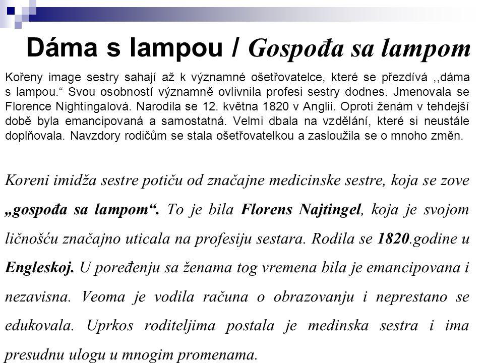 Dáma s lampou / Gospođa sa lampom