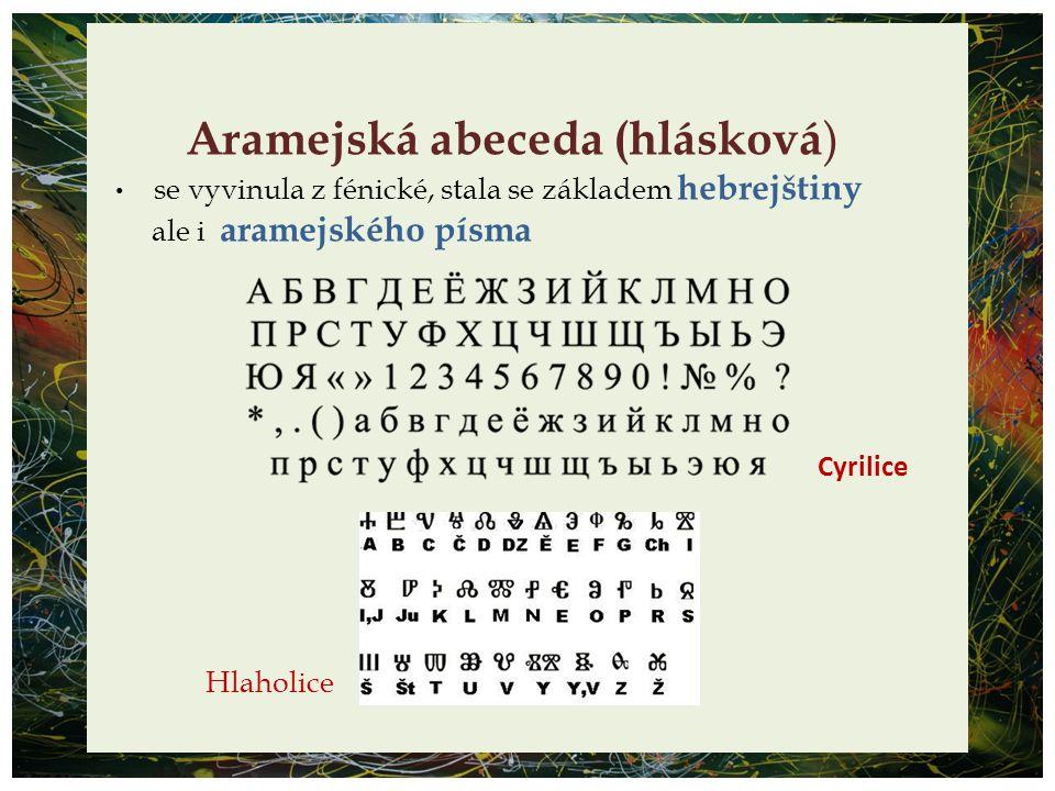Aramejská abeceda (hlásková)