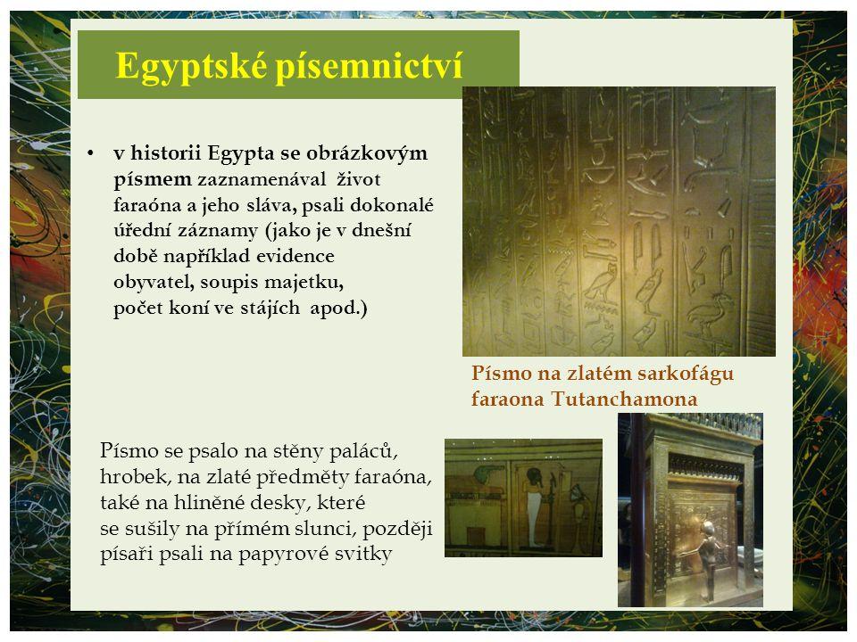Egyptské písemnictví