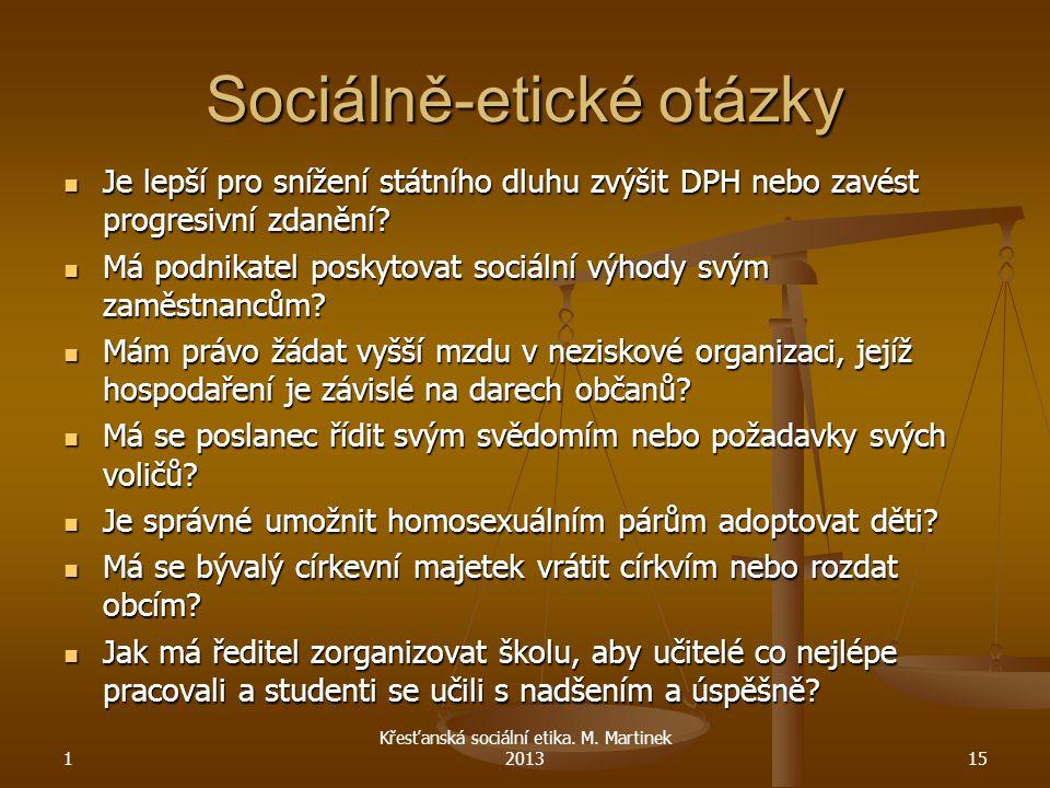 Sociálně-etické otázky