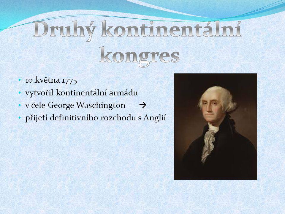 Druhý kontinentální kongres