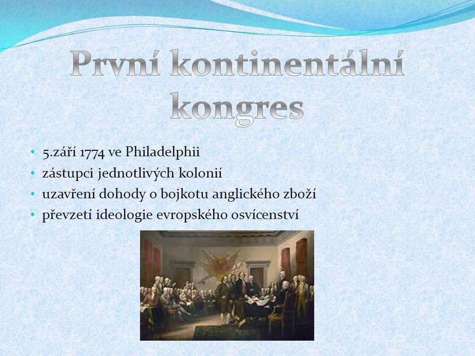 První kontinentální kongres