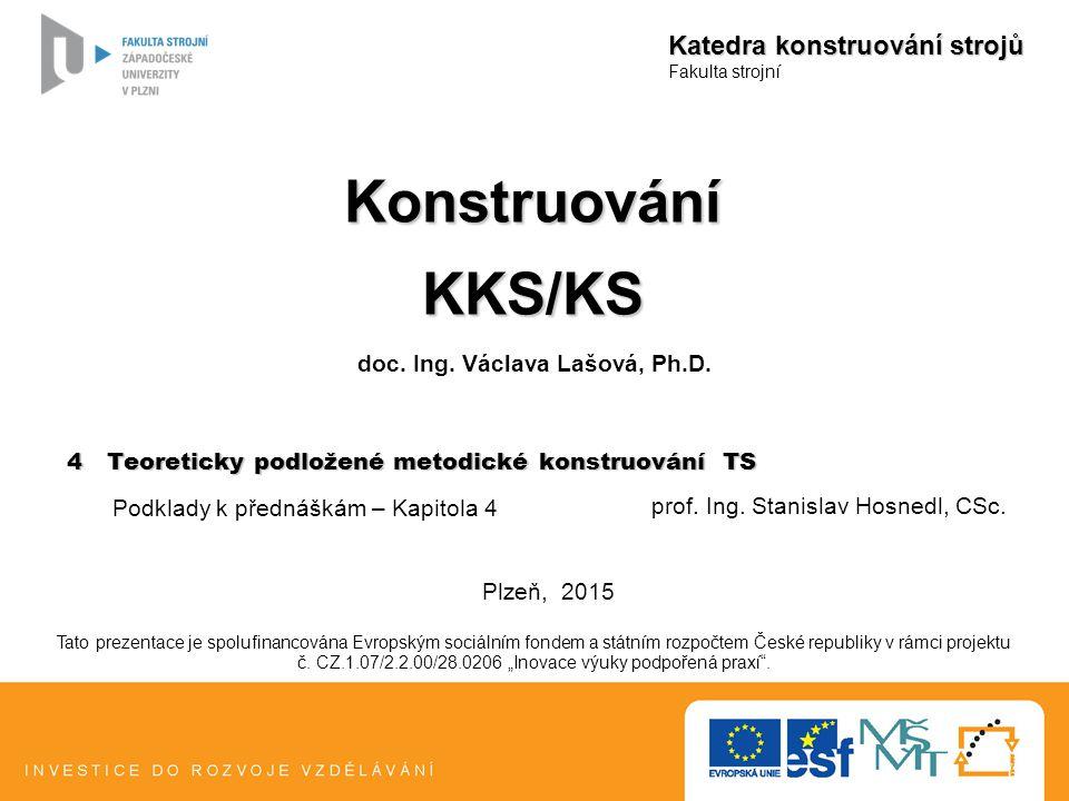 doc. Ing. Václava Lašová, Ph.D.