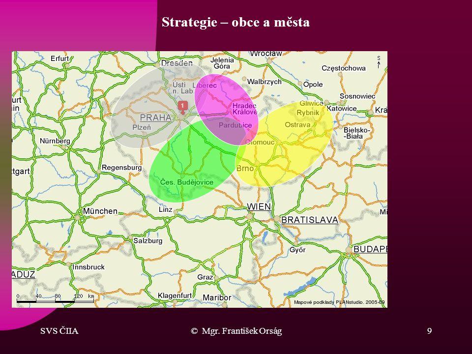 Strategie – obce a města