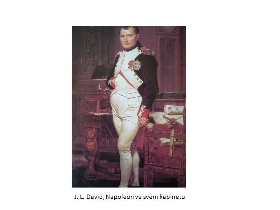 J. L. David, Napoleon ve svém kabinetu