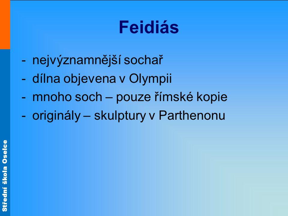 Feidiás nejvýznamnější sochař dílna objevena v Olympii