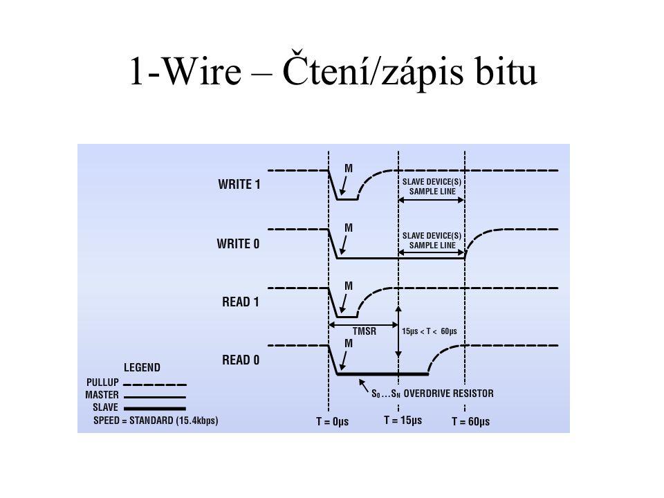 1-Wire – Čtení/zápis bitu
