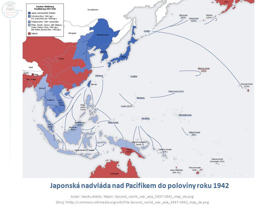 Japonská nadvláda nad Pacifikem do poloviny roku 1942