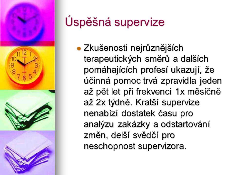 Úspěšná supervize