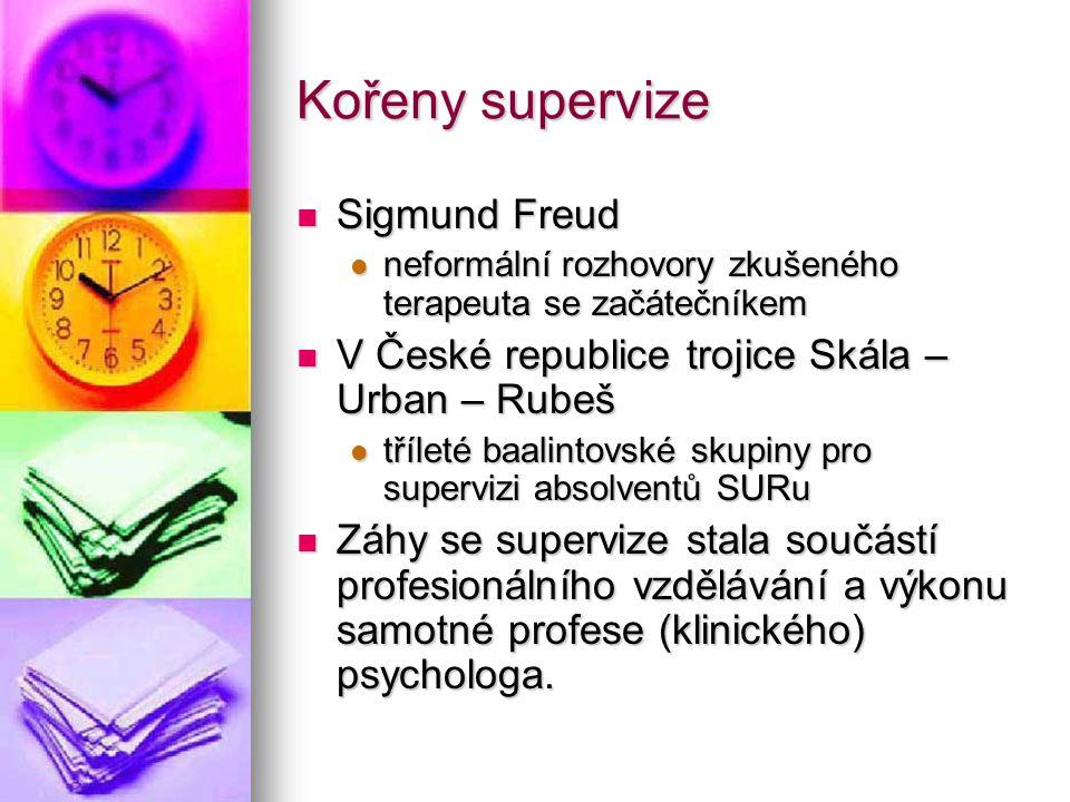 Kořeny supervize Sigmund Freud