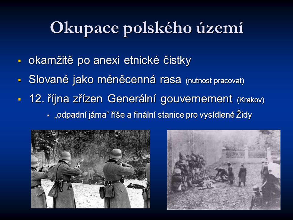 Okupace polského území