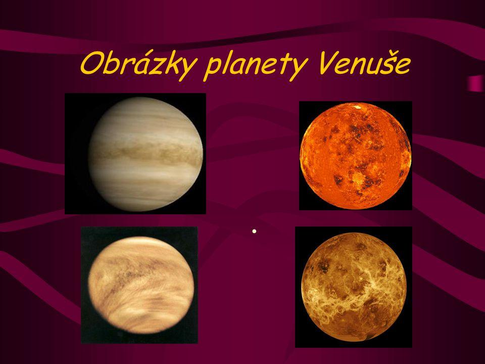 Obrázky planety Venuše