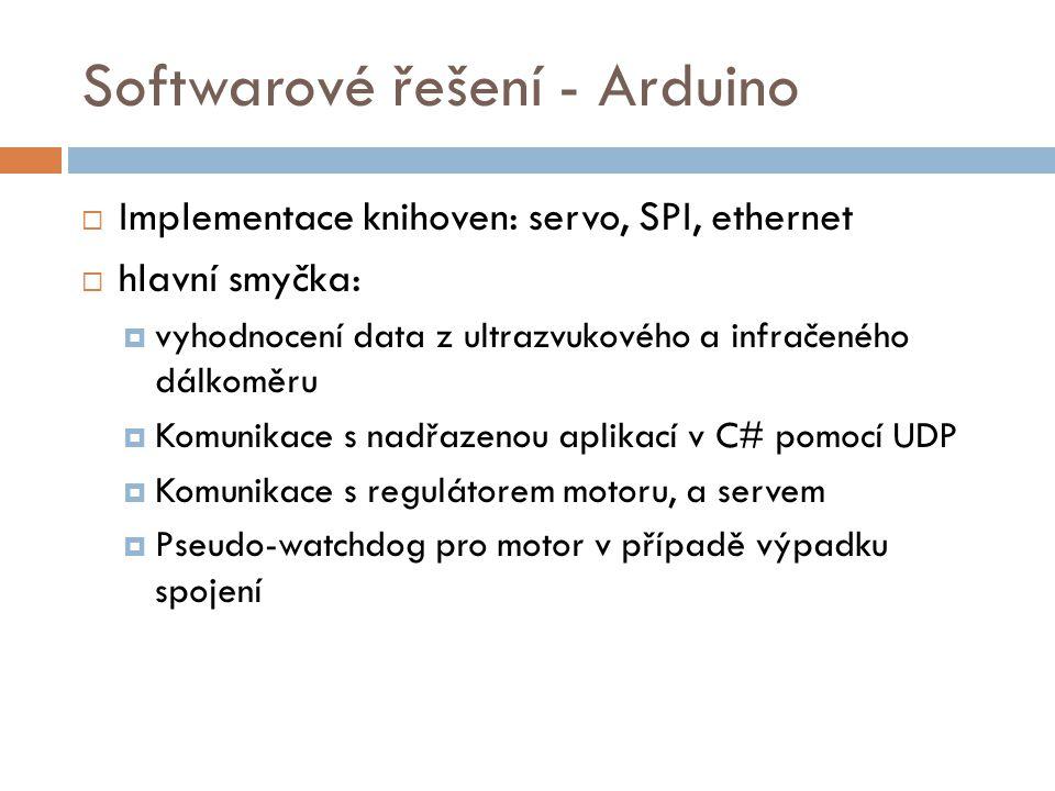 Softwarové řešení - Arduino