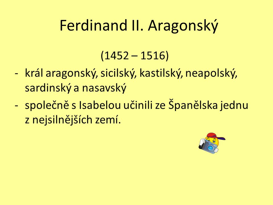 Ferdinand II. Aragonský