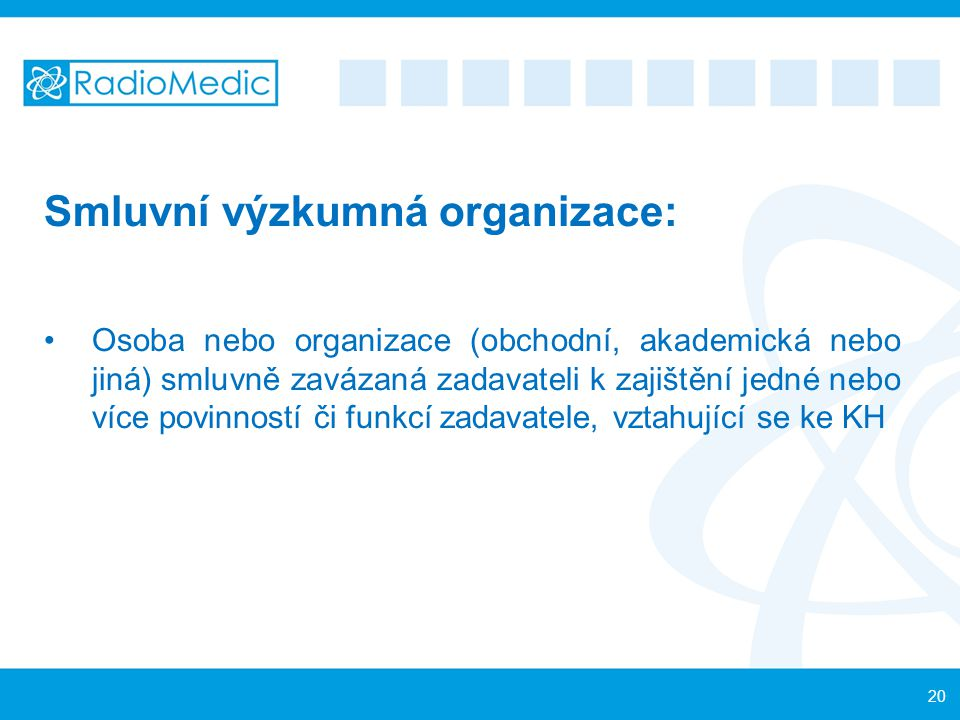 Smluvní výzkumná organizace: