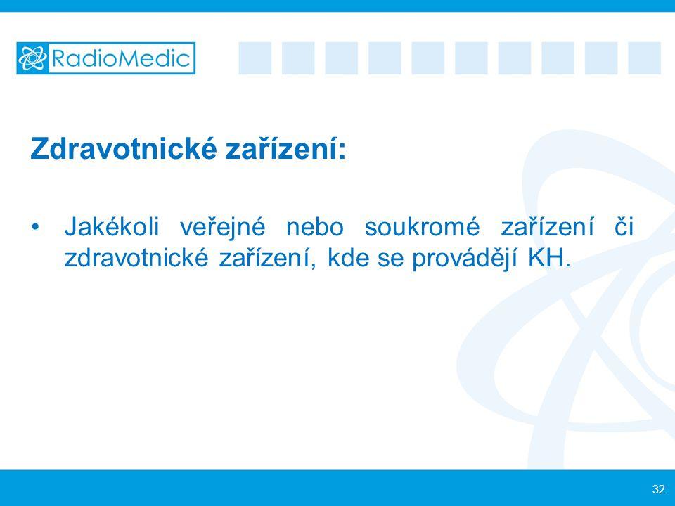 Zdravotnické zařízení: