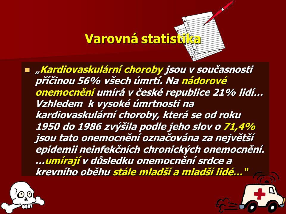 Varovná statistika