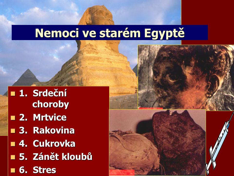 Nemoci ve starém Egyptě