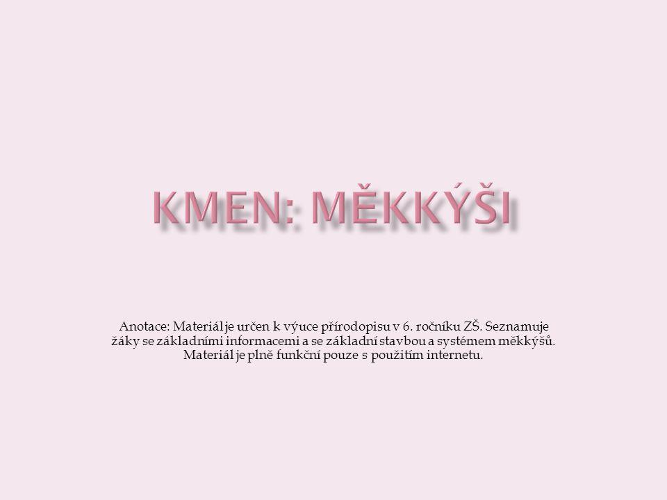 Kmen: MĚKKÝŠI