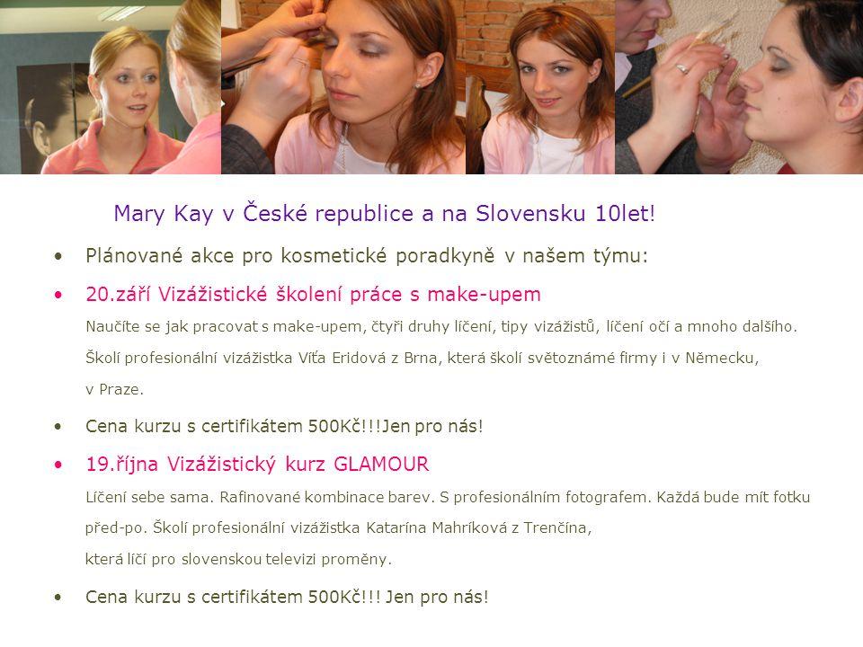 Mary Kay v České republice a na Slovensku 10let!
