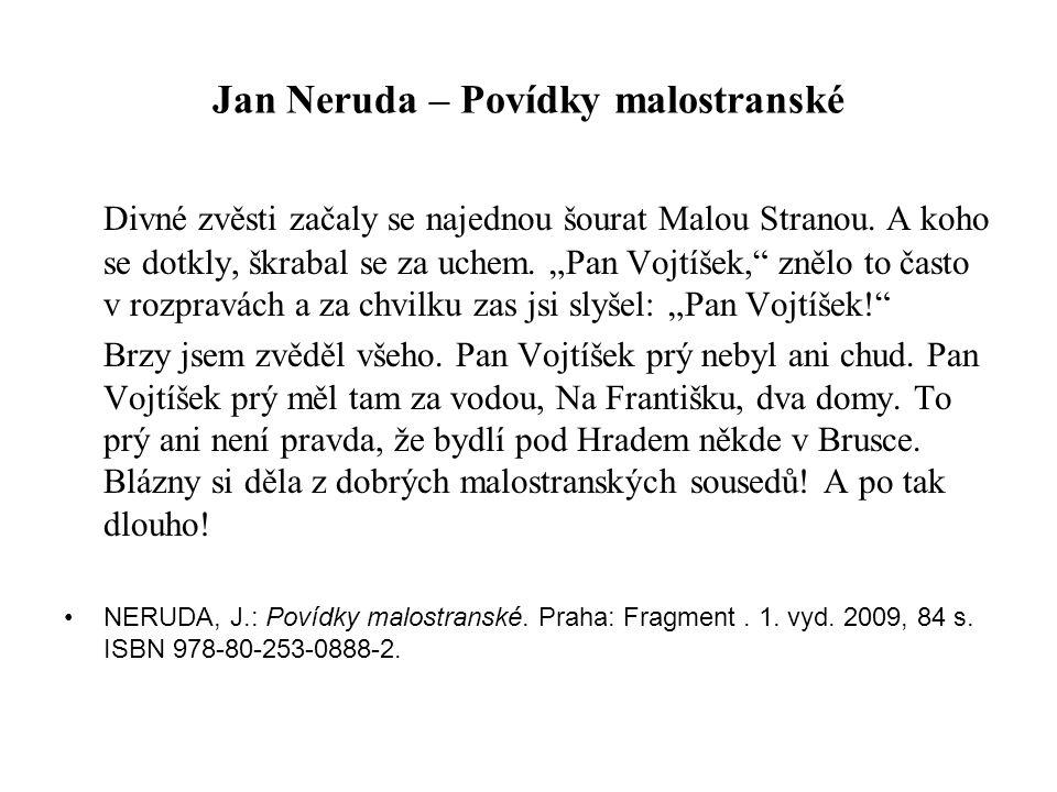 Jan Neruda – Povídky malostranské