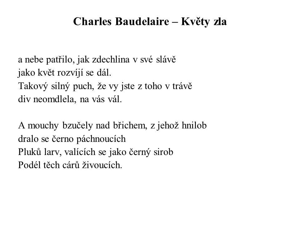 Charles Baudelaire – Květy zla