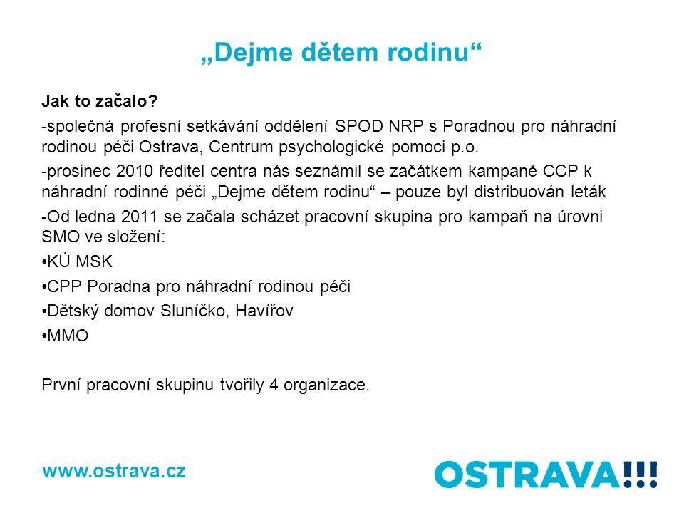 """""""Dejme dětem rodinu www.ostrava.cz Jak to začalo"""