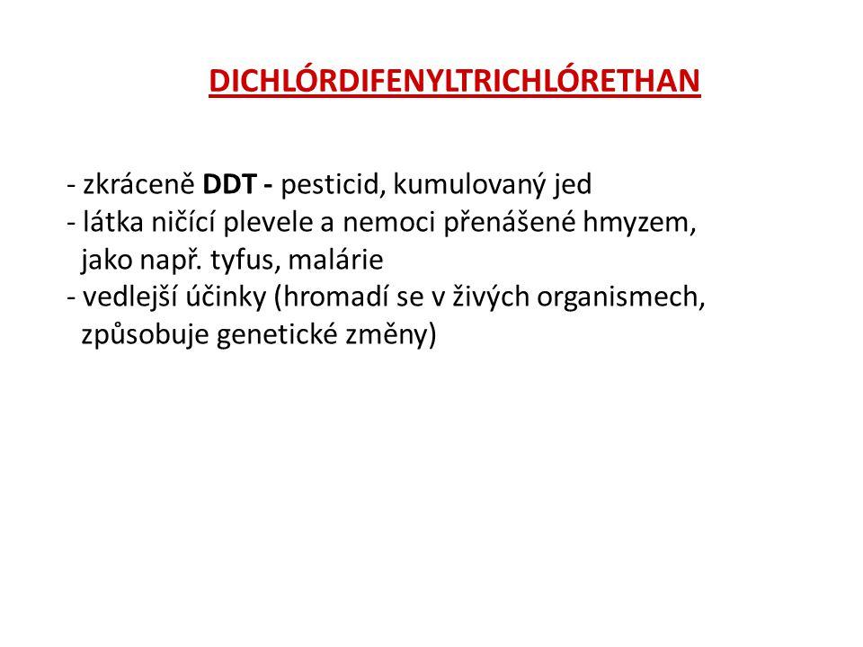 DICHLÓRDIFENYLTRICHLÓRETHAN