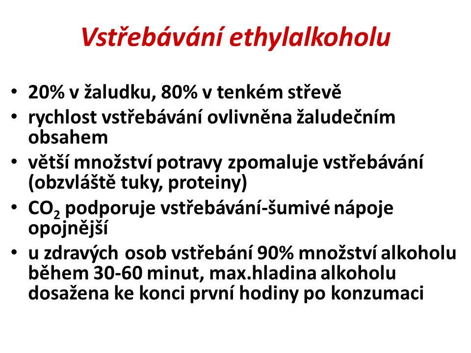 Vstřebávání ethylalkoholu