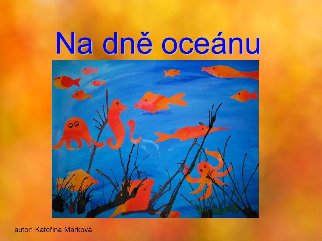 Na dně oceánu autor: Kateřina Marková