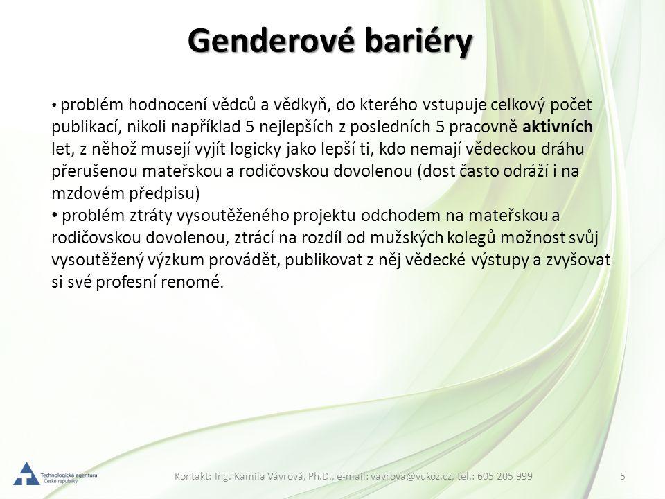 Genderové bariéry